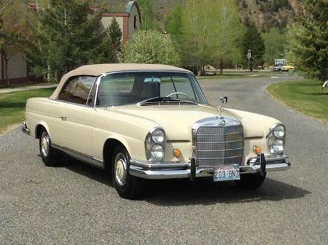 1962 Mercedes-Benz 190-Class for sale at Sun Valley Auto Sales in Hailey ID