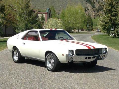 1968 AMC AMX for sale at Sun Valley Auto Sales in Hailey ID