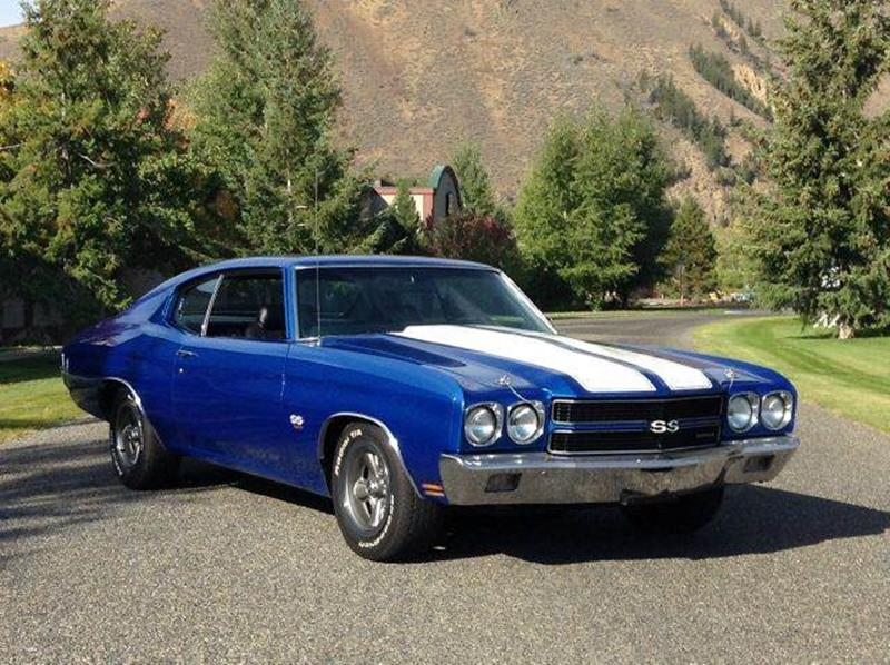 1970 Chevrolet Chevelle for sale at Sun Valley Auto Sales in Hailey ID