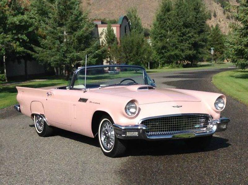 1957 Ford Thunderbird for sale at Sun Valley Auto Sales in Hailey ID