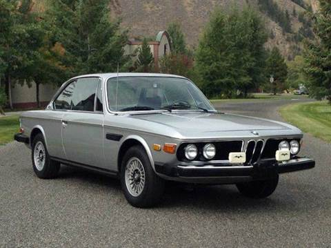 1974 BMW 3.0 CS for sale at Sun Valley Auto Sales in Hailey ID