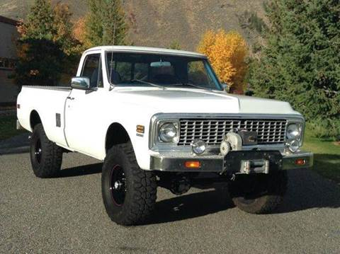 1971 Chevrolet C/K 10 Series for sale at Sun Valley Auto Sales in Hailey ID