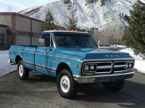 1972 GMC Sierra Classic 1500 for sale at Sun Valley Auto Sales in Hailey ID