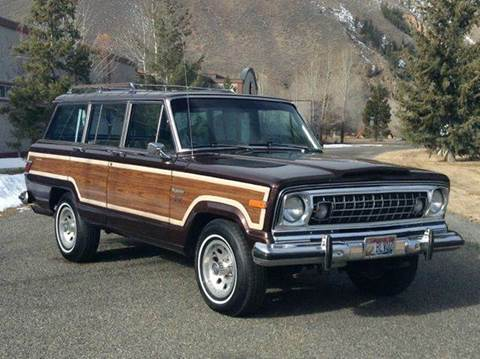 1978 Jeep Grand Wagoneer for sale at Sun Valley Auto Sales in Hailey ID