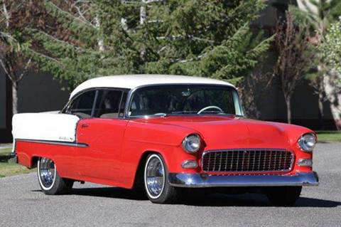 1955 Chevrolet Bel Air for sale at Sun Valley Auto Sales in Hailey ID