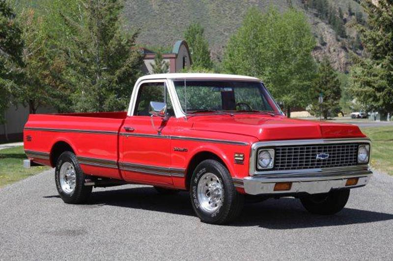 1971 Chevrolet C/K 20 Series for sale at Sun Valley Auto Sales in Hailey ID