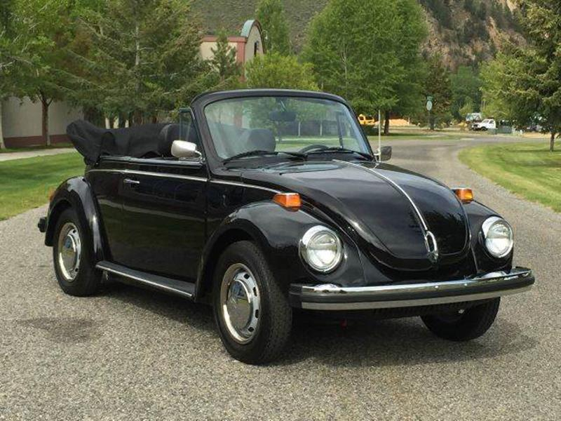 1979 Volkswagen Beetle Convertible for sale at Sun Valley Auto Sales in Hailey ID