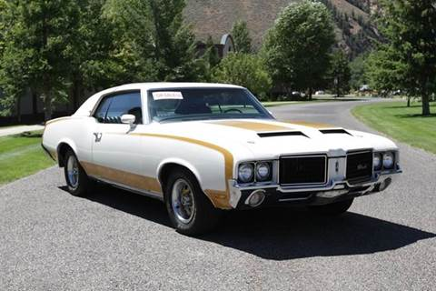 1972 Oldsmobile Cutlass Supreme for sale at Sun Valley Auto Sales in Hailey ID