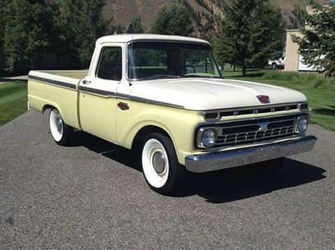 1966 Ford F-100 for sale at Sun Valley Auto Sales in Hailey ID