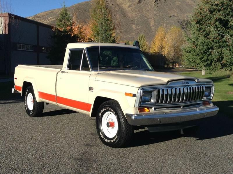 1985 Jeep J-10 Pickup for sale at Sun Valley Auto Sales in Hailey ID