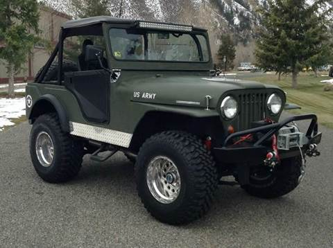 1966 Jeep CJ-5 for sale at Sun Valley Auto Sales in Hailey ID