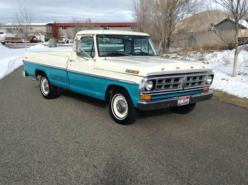 1971 Ford F-100 for sale at Sun Valley Auto Sales in Hailey ID