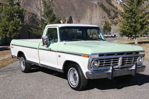 1973 Ford F-100 for sale at Sun Valley Auto Sales in Hailey ID