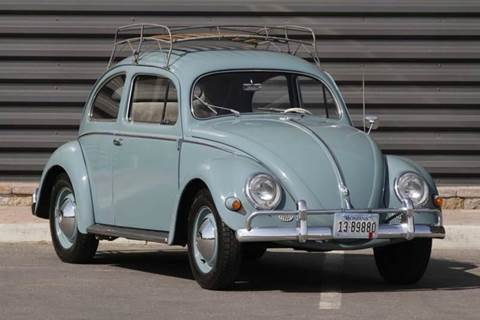 1957 Volkswagen Beetle for sale at Sun Valley Auto Sales in Hailey ID