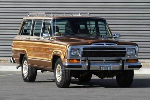 1986 Jeep Grand Wagoneer for sale at Sun Valley Auto Sales in Hailey ID