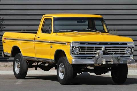 1973 Ford F-250 for sale at Sun Valley Auto Sales in Hailey ID
