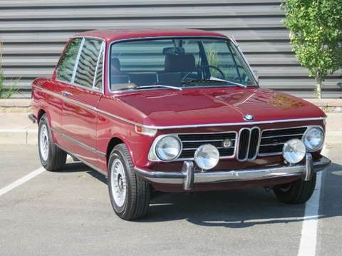 1972 BMW 2002 for sale at Sun Valley Auto Sales in Hailey ID