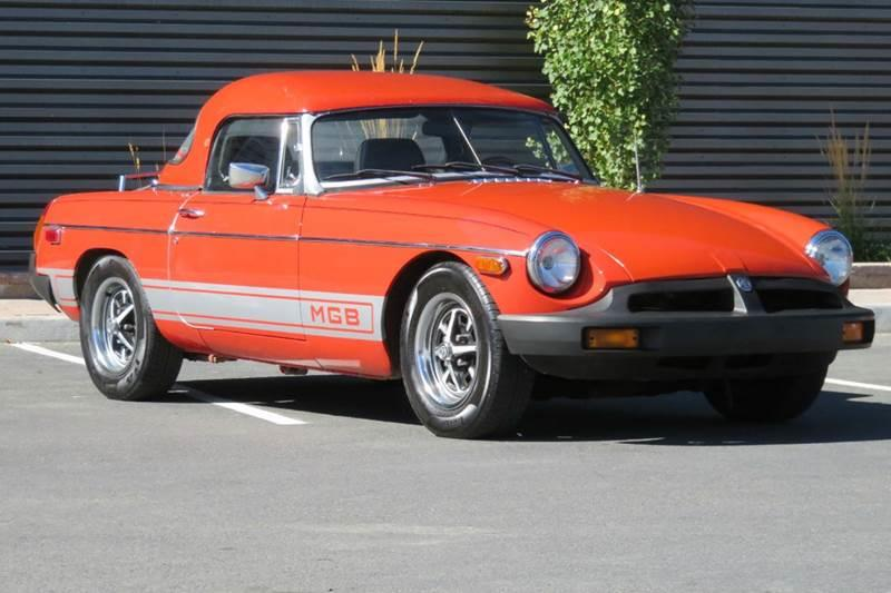 1977 MG MGB for sale at Sun Valley Auto Sales in Hailey ID