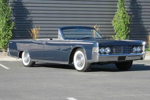 1965 Lincoln Continental for sale at Sun Valley Auto Sales in Hailey ID