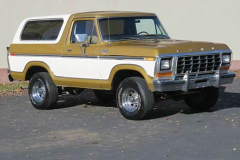 1979 Ford Bronco for sale at Sun Valley Auto Sales in Hailey ID