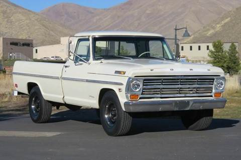 1968 Ford F-250 for sale at Sun Valley Auto Sales in Hailey ID