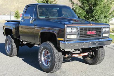 1984 GMC Sierra 1500 for sale at Sun Valley Auto Sales in Hailey ID