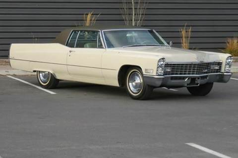 1967 Cadillac Coupe De'Ville for sale at Sun Valley Auto Sales in Hailey ID