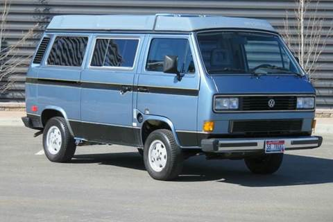 1987 Volkswagen Vanagon for sale at Sun Valley Auto Sales in Hailey ID