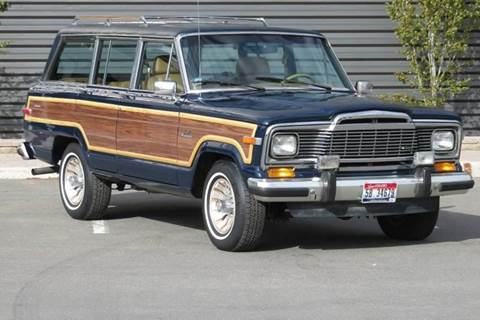 1985 Jeep Grand Wagoneer for sale at Sun Valley Auto Sales in Hailey ID