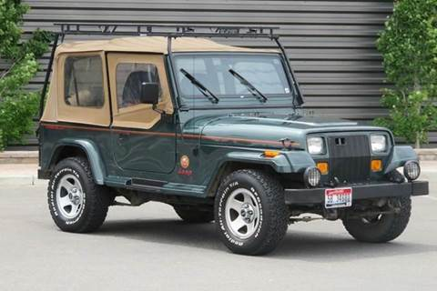 1994 Jeep Wrangler for sale at Sun Valley Auto Sales in Hailey ID