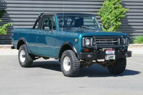 1976 International Harvester Scout II for sale at Sun Valley Auto Sales in Hailey ID
