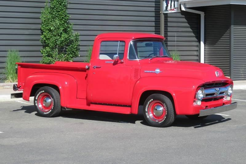 1956 Ford F-100 for sale at Sun Valley Auto Sales in Hailey ID