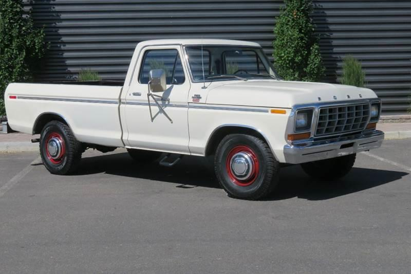 1978 Ford F250 >> 1978 Ford F 250 Ranger Camper Special In Hailey Id Sun