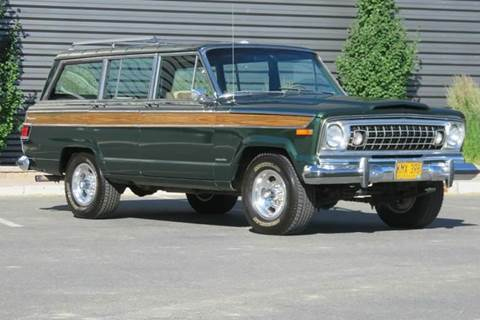 1977 Jeep Wagoneer for sale at Sun Valley Auto Sales in Hailey ID