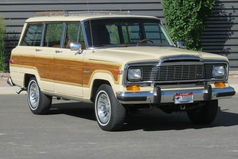 1984 Jeep Grand Wagoneer for sale at Sun Valley Auto Sales in Hailey ID