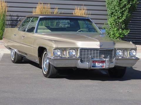 1972 Cadillac DeVille for sale at Sun Valley Auto Sales in Hailey ID