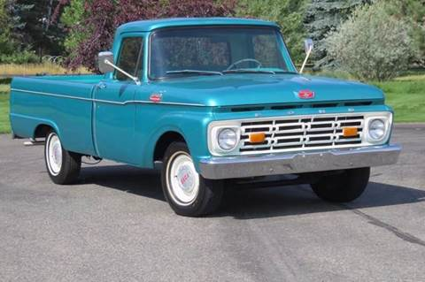 1964 Ford F-100 for sale at Sun Valley Auto Sales in Hailey ID