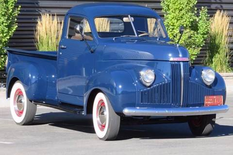 1947 Studebaker M5 for sale at Sun Valley Auto Sales in Hailey ID