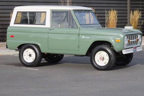 1971 Ford Bronco for sale at Sun Valley Auto Sales in Hailey ID
