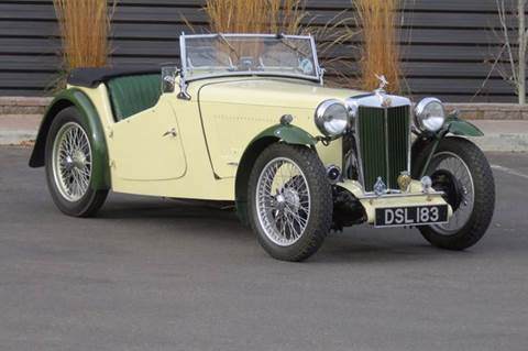 1949 MG TC for sale in Hailey, ID