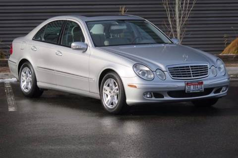 2005 Mercedes-Benz E-Class for sale at Sun Valley Auto Sales in Hailey ID