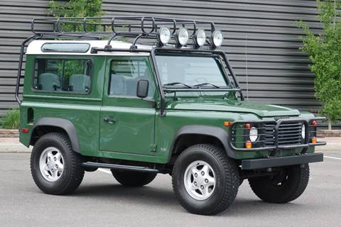 1997 Land Rover Defender for sale at Sun Valley Auto Sales in Hailey ID