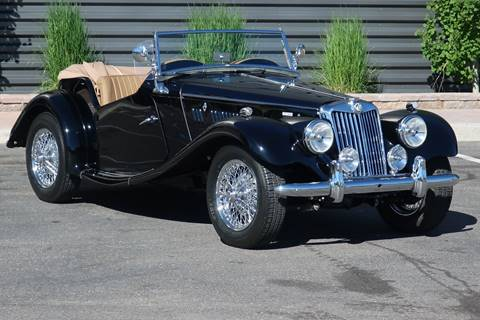1955 MG TF for sale at Sun Valley Auto Sales in Hailey ID