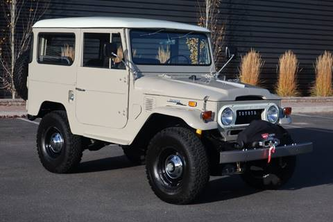 1971 Toyota Land Cruiser for sale at Sun Valley Auto Sales in Hailey ID