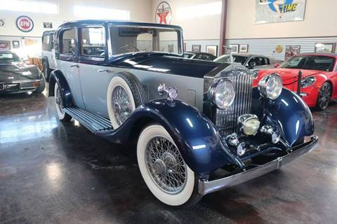 1934 Rolls-Royce 20/25 for sale at Sun Valley Auto Sales in Hailey ID