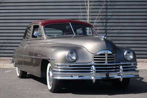 1950 Packard Super Eight for sale at Sun Valley Auto Sales in Hailey ID