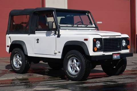1995 Land Rover Defender for sale at Sun Valley Auto Sales in Hailey ID