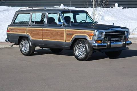 1989 Jeep Grand Wagoneer for sale in Hailey, ID