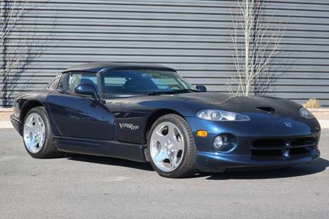 2001 Dodge Viper for sale at Sun Valley Auto Sales in Hailey ID