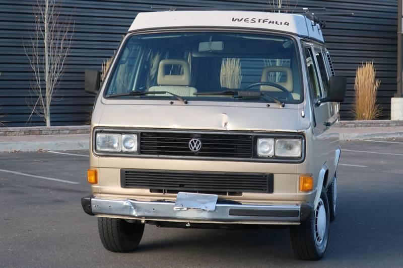 1986 Volkswagen Vanagon Weekender In Hailey Id Sun Valley Auto Sales